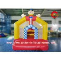 Buy quality Commercial Inflatable Bouncy Castle PVC Clip Net Cloth Jumping Bed For Adult at wholesale prices