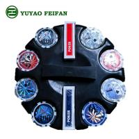Buy cheap Round Corner 200 Pcs Beautiful Poker Chips Plastic / Clay / Ceramic Poker Chips Set product