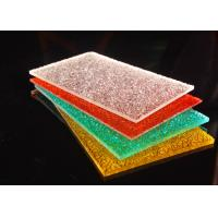 Buy cheap Colorful Diamond Surface Polycarbonate Solid Sheet Lightweight 2-12mm product