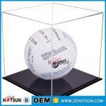 acrylic football boot display case, clear acrylic baseball hat display case,