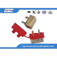 Buy cheap Automatic Bimetal Temperature Switch , Thermal Circuit Breaker Hand Reset Button product