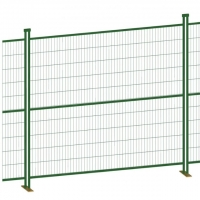 Buy cheap Opening 50*100mm 4.0mm Wire Canada Temporary Fence product