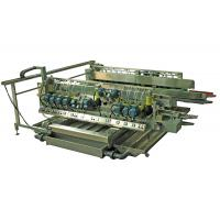 China Construction Glass Grinding Machines Double Edging Machine With 22 ABB Motors on sale