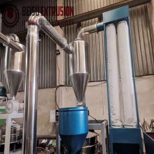 Buy cheap Plastic PVC WPC SPC 8MM Pulverizer Grinder Machine product