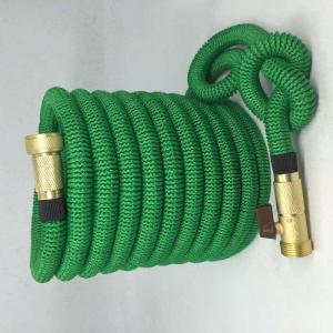 Buy cheap Amazon hot sale Expandable Garden hose,50FT strongest garden hose, brass quick coupling, green color product