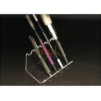 Buy cheap 4mm Acrylic Clear Pen Display Stand Portable Pen Holder Hot Bend Cutting product