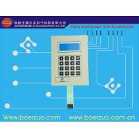 Buy cheap Double Side texture glossy PET / Flexible PCB Membrane Key Switches 1.2 MM product