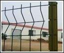 Buy cheap Decorative Peach Shape Post Wire Mesh Fence (DCL006) product