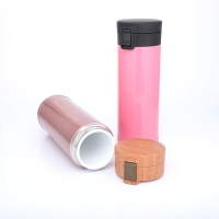 Buy cheap Portable Ceramic Liner 0.48L Thermos Insulated Cup product
