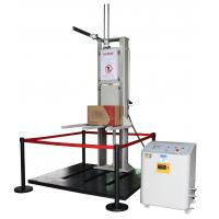 Buy cheap High Precise Packaging Drop Test Machine Impact Resistance Test Double Track from wholesalers