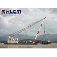 China WD350 180Ton / 300Ton Luffing Mast Crane or floating crane for heavy duty lifting on sale