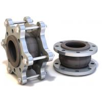 Buy cheap Floating Flange Rubber Expansion Joints / Pipe Expansion Joint DN125 PN40 Model KXT-W product