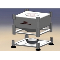 Buy cheap Solid Material Handling Good Sealing SS316L Mobile Silo product