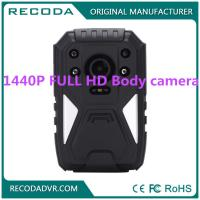 Buy cheap Law Enforcement 4G Body Camera , Wide degree wearable police cameras 11 hours product