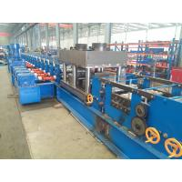 Buy cheap U Section Post Roll Forming Machinery Match With Guardrail With Punching Devices from wholesalers