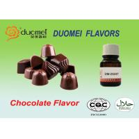 Buy cheap Silky Rich Chocolate Flavour Food Grade Flavoring For Dairy Products product