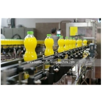 Buy cheap Hanging Conveying 24000BPH Automatic Juice Bottle Filling Machine from wholesalers