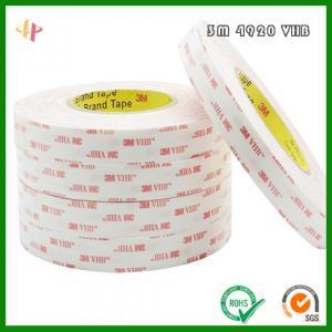 Buy cheap 3M4920VHB high strength acrylic foam double-sided adhesive _ 3M4920 foam tape product