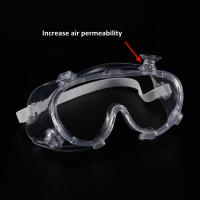 Buy cheap Indirect Ventilation Woodworking Disposable Safety Glasses product