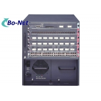 Buy cheap 6 Slot Chassis Catalyst 6500 Series12RU Cisco Gigabit Switch product