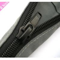 Buy cheap Black PET Zipper Cable Sleeve Braided Wrap Expandable For Cable Management product