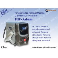 Buy quality 1064nm / 532nm Laser Tattoo Removal Machine For Eyebrow / Speckle Removal at wholesale prices