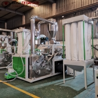 Buy cheap 20mesh Siemens PE Pulverizer Machine With Water Chiller Cooling System product