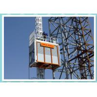 Buy cheap Double Cage Construction Site Elevator , Industrial Materials Hoist product