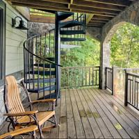 Buy cheap Balcony Decorative Customized outdoor Carbon Steel Spiral Metal Stair product
