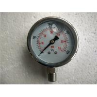 "Buy cheap 2.5""( 63mm ) All Stainless Steel Polished Liquid Filled Manometer Pressure Gauge product"