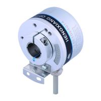 Buy cheap K50 Optical Position Encoder , Hollow Shaft Optical Encoder 14mm Line Driver Output 5V DC 5000 Resolution product