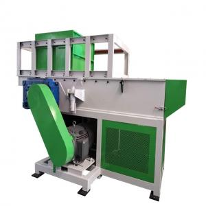 Buy cheap 630mm PVC HDPE Pipe Plastic Shredder Machine With Magnetic Separator Conveyor Belt product