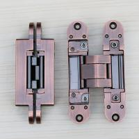Buy cheap 3d adjustable hinges concealed for interior wood door european concealed types from wholesalers