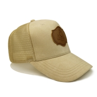Buy cheap Embroidered Plain Blank 60CM 6 Panel Trucker Mesh Hat product