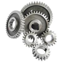 Buy cheap Carbon steel Diesel Engine Gear S195 S1100 Gear sets 6pcs/set nitriding black color product