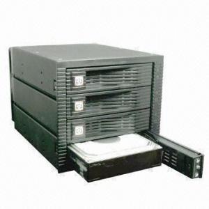 Buy cheap 3.5 SATA SAS Hot Raid Swap 4 Bay Hard Drives with Two LED Signal product