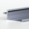 397mm Easy Installation Kitchen Gray Aluminium Cabinet Handles for sale