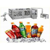 Buy cheap 380V 50HZ Carbonated Drink Soda Water / Cola / Soft Drink Filling Machine product