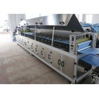 Buy cheap Camber Shape Disposable Glove Machine 11KW High Speed  Blue Color Easy Operation product