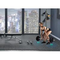 Buy cheap Noise Reduction EPDM interlocking rubber floor tiles For Gym from wholesalers