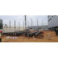 Buy cheap Prefabricated Workshop Steel Structure With Hot - Rolled Steel Profiles product
