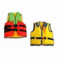 Buy quality Neoprene Buoyancy Life Jackets/Floating Life Vest with EN ISO12402-5 2006 and 12402-7 2007 Marks at wholesale prices