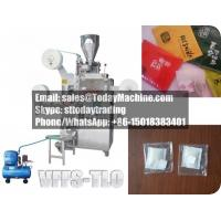 Buy cheap inner filter tea bag+outer plastic teabag+thread Packing Machine, include the takeout conveyor product