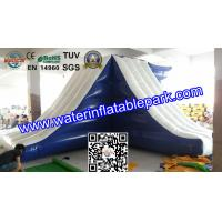 Buy cheap Lake Inflatable Floating Water Slide / Inflatable Water Games Float Climb And Slide product