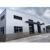 Buy cheap Epoxy Resin Paint Prefabricated Steel Structure Warehouse GB Standard Recyclable product