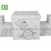 Buy cheap Recyclable Foldable Painted DIY Corrugated Cardboard Toys Furniture By Kids from wholesalers