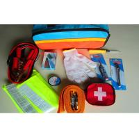 Buy cheap 10PCS Emergency Car Tool Kit With With Booster Cable , Reflective Vest CE product