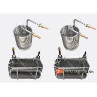 Buy cheap Spiral Grooved Stainless Steel Tube Heat Exchanger / Condenser High Effiency/stainless steel tube heat exchanger product