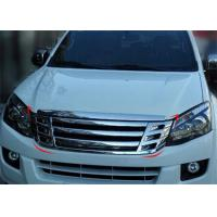 Buy cheap ISUZU D-MAX 2012 2013 2014 2015 Modified Front Grille , Black and Chrome from wholesalers