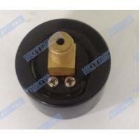 Buy cheap 40mm Brass internals air pressure gauges back mount with black steel case product
